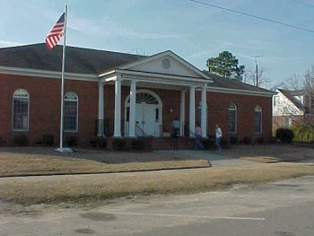 front view of the Metter-Evans County Library